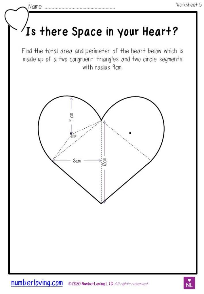 GCSE Higher Challenging Valentine Starter Plenary